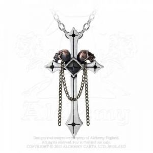 collier Gothique Alchemy Crucifix